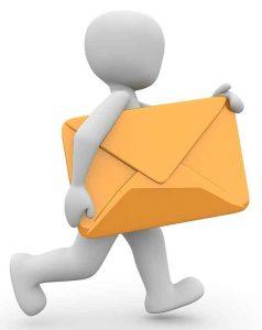 Bonhomme lettre
