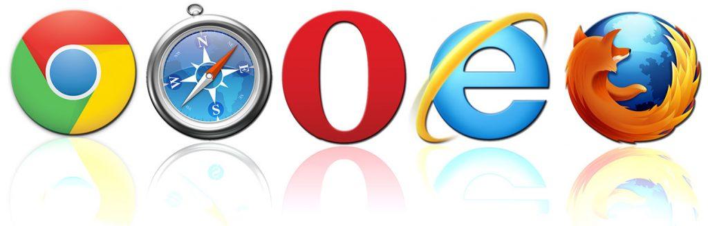 Logos navigateurs Internet